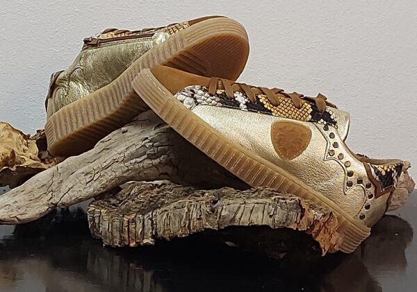 Gadea sneakers dorée