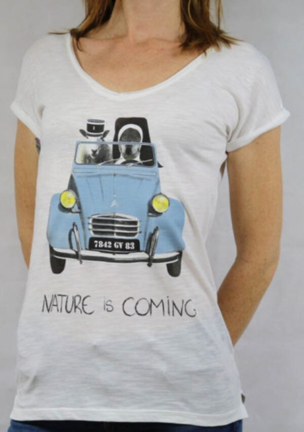 nature is coming st Tropez femme