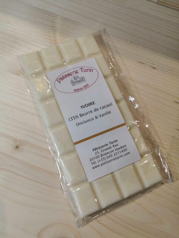Chocolat blanc Ivoire